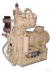 Units EKP compressor series, ship compressor
