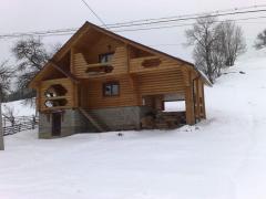 Wooden houses, arbors, baths, hotels