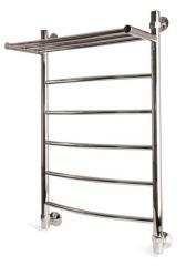 Heated towel rails from stainless steel.