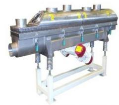 The vibrodryer with a fluidized layer of PVFS 100