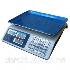 Торговые электронные весы до 50 кг 982S Metall
