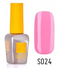 Гель-лак для ногтей LEO seasons №024 Плотный французский розовый (эмаль) 9 мл