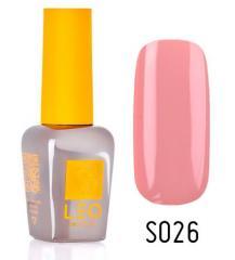 Гель-лак для ногтей LEO seasons №026 Плотный розово-бежевый (эмаль) 9 мл