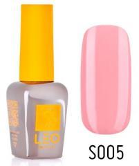 Гель-лак для ногтей LEO seasons №005 Плотный розовый (эмаль) 9 мл