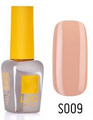 Гель-лак для ногтей LEO seasons №009 Плотный бежевый с розовым оттенком (эмаль) 9 мл