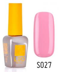 Гель-лак для ногтей LEO seasons №027 Плотный бледно-бежевый (эмаль) 9 мл