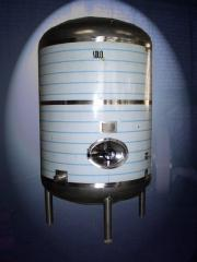 Tanks are food, Reservoirs from stainless food