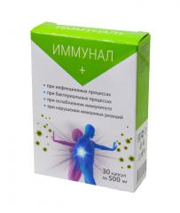 Иммунал + капсулы для иммунитета