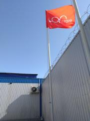 Флагшток, мачта для флага Запорожье, Мелитополь,
