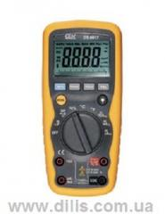 The professional digital multi-meter - DT-9917T