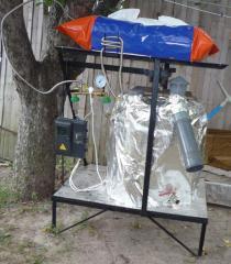 Установки биогазовые для подворья из пластмас