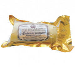 Sausage processed cheese smoked from the producer,