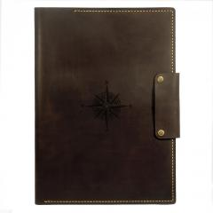 Folders made of leather