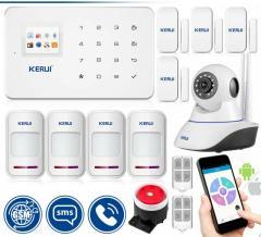 Комплект беспроводной GSM сигнализации Kerui...