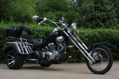 Three-wheeled Road-fantom VS-350 motorcycle