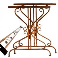 Садовый стол боковины кованые 2 шт (БА-9)