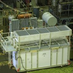 ВЫПРЯМИТЕЛИ ДЛЯ  ЭЛЕКТРОЛИЗА В КОНТЕЙНЕРНОМ ИСПОЛНЕНИИна токи до 100 кА напряжением до 1000 В.Источники  питания постоянным током для электролизных установок.