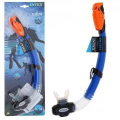 Трубка для плавания Intex 55924 Cиний