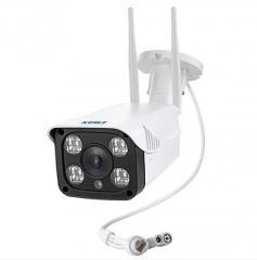 Наружная IP Видеокамера Kerui 720P 1MPIX Белый