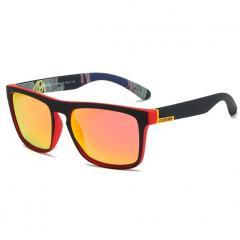 Cолнцезащитные очки Dubery Черный+Красный+Красный