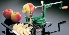 Device for cleaning, cutting of Ezidri Peeler