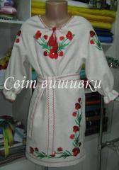 Vyshivanki nurseries. The children's dresses