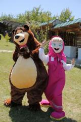 Bear, life-size puppets, Bear, Kind Dolls,
