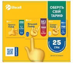 Стартовый пакет Lifecell Универсальный 4G
