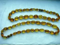 Beads is a small, Amber beads large (small)