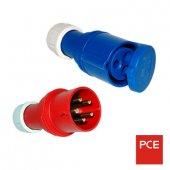 Силовые вилки, разъёмы PCE