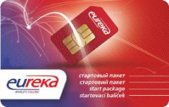 Стартовый пакет EUREKA (Баланс 0,00 грн.)