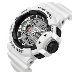 Sanda 599 White-Silver