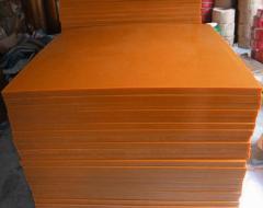 Polyurethane sheets and plates