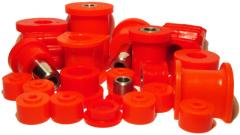 Plugs are polyurethane, shaft polyurethane