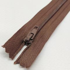 Молния брючная 18 см, коричневая (6-2426-В-195)