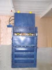 Hydraulic paketirovochny Press for waste of waste