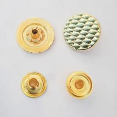 Кнопка ТАБЛЕТКА - 17мм Золото 50шт....