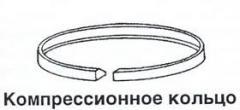 Ring oil scraper 171.04.022. Ring sealing sleeves