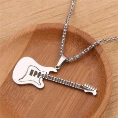 Мужской кулон цепочка гитара украшения...