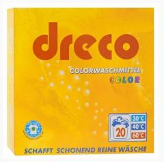 Laundry detergent for color linen of Dreco Color 3