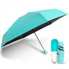 Мини зонт капсула | компактный зонтик в...