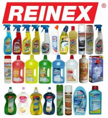 Cleaning and the Reinex detergents WHOLESALE from