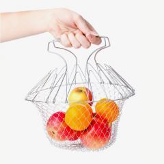 Складной дуршлаг Magic Kitchen Deluxe Chef Basket