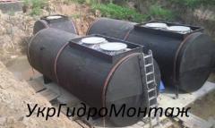 Апарати ємнісні сталеві зварені