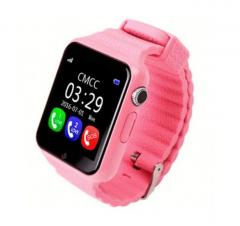 Smart Watch V7K розовые | Умные детские часы...