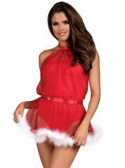 Платье - Santastic Obsessive,  красный,  S/M