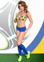 Ролевой костюм - Viktoria, желто-синий