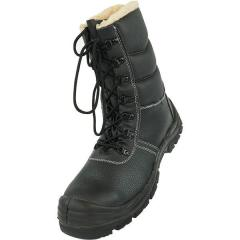 Ботинки с высокими берцами металлическим носком на