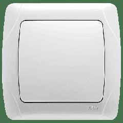 Выключатель проходной Белый Carmen Viko, 90561004