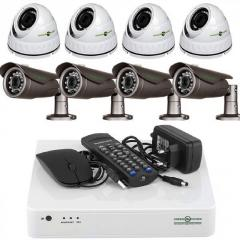 Комплект видеонаблюдения на 8 камер Green...